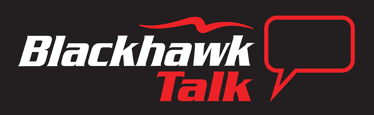 Blackhawk Talks logo